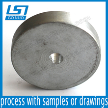 Carbon steel zinc plating flat round block thick washer parallel key