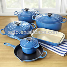 Amazon hot sale cast iron enamel cookware cast iron frypan cast iron skillet