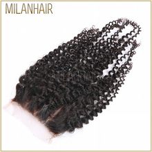 Most Popular Products Human Hair Lace Closure Fast Shipping Virgin Peruvian Human Hair Kinky Curly Light Brown Lace Closure