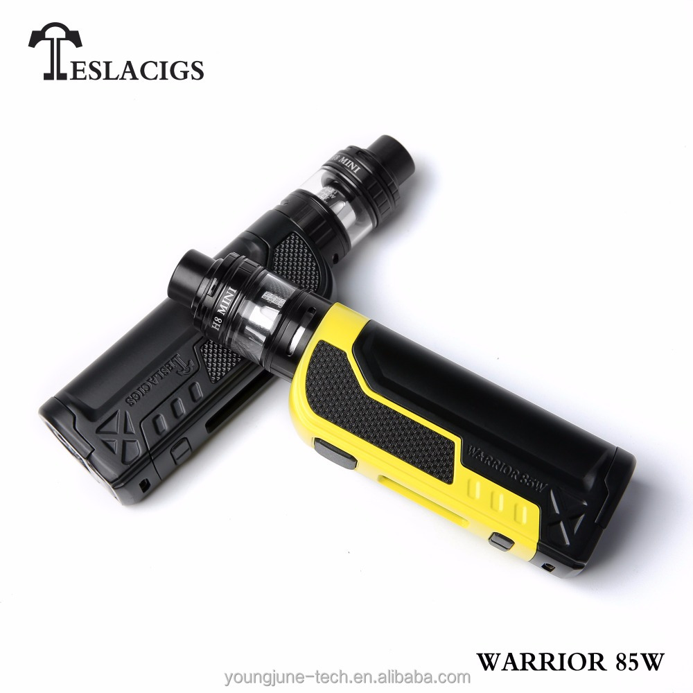 wholesale best e cigs product H8 MINI tank edition teslacigs tesla warrior 85w