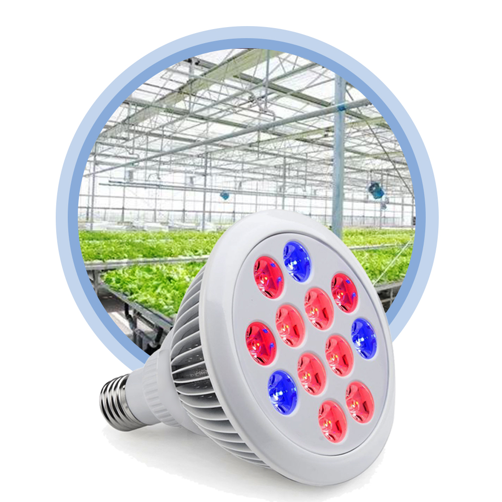 ShenZhen factory wholesale hydroponics grow system E27 PAR38 12W 15w 45w led plant grow par light bulb