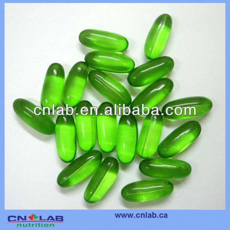 Natural herbal slimming aloe softgel capsule