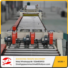 High-grade automatic gypsum board production machine/popular used gypsum board production line