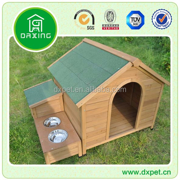 Garden Use High Quality Dog Kennel With Bowl DXDH018