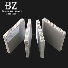 Construction building materials plastic pp hollow formwork board for construction formwork for sale