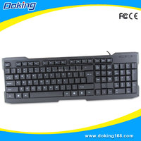 Wholesale desktop Wired gaming mechanical keyboard
