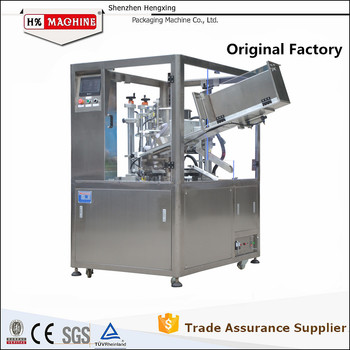 Automatic Filling Machines Plastic Tube Filling Machines