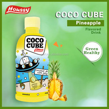 320ml fruit flavored houssy brand coconut water with big sized pulp