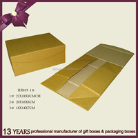 Special design foldable paper packaging box without glue