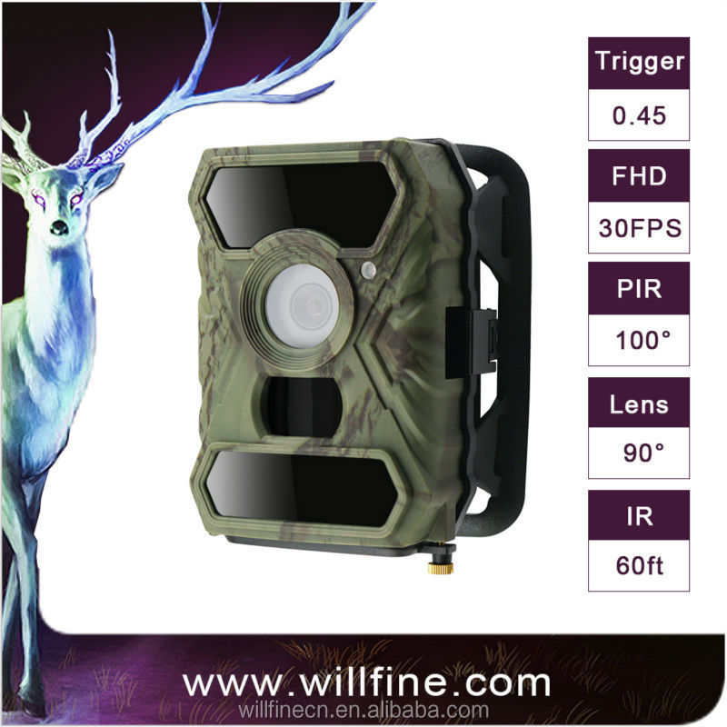 Willfine 3.0C series 100 Degree Wide Angle Waterproof Scouting hunting Camera Wildlife Tracking Camera Wifi Infrared Wild Camera