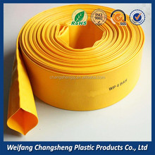 UV Resistant Irrigation Water Pump Slurry Delivery 8 inch Diameter PVC Hose