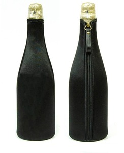 Best price wholesale customized promotional neoprene insulated champagne cooler bottle bag