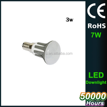 2017 NEW PRODUCT R39 R50 R63 8W E27 7w Dimmable LED BULB WITH CE ROHS ERP buy direct from china factory