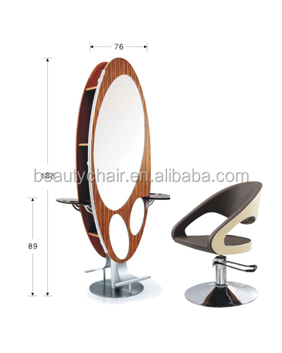 Hot Selling Wholesale Professional Salon Styling Mirror Station