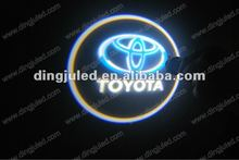 Toyota car led logo laser light