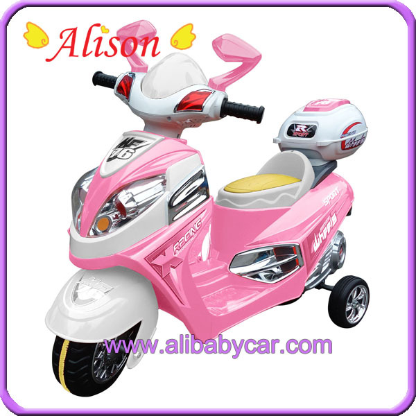 Alison T02410 lovely baby ride on scooter with 6V battery operated