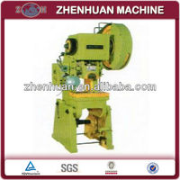 Inclinable 10 tons punch press machine