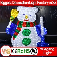 china wholesale christmas decoration light outdoor santa clause New Products motif light