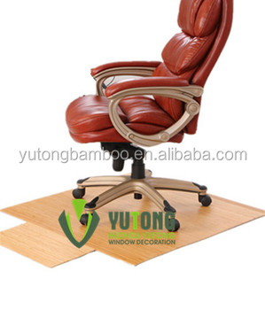 New style bamboo chair mat of office