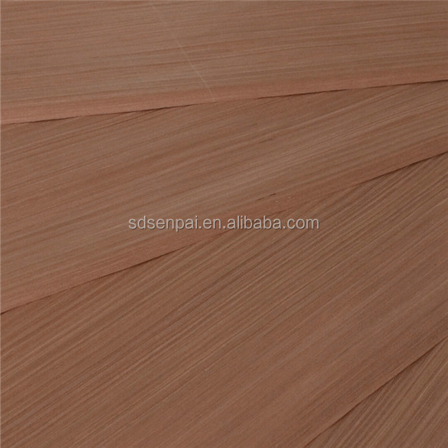 sliced cut laminated reconstituted white apricot wood timber veneer sheets /engineered wood