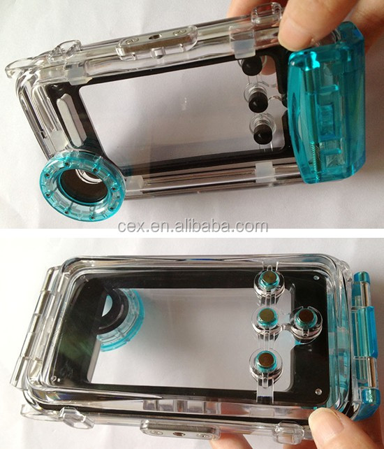 High Quality Amazing Full Body Protection Waterproof PC Plastic Hard Case For Apple iPhone 5 5s
