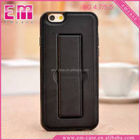 For Iphone 6/6 plus Stand Holder TPU Cover Case,Pu Leather Skin Soft Case For iphone 6s/6splus