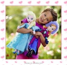 50cm anna and 50cm elsa soft plush stuffed frozen doll Hot selling