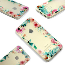 Phone case for Apple iphone 6 case iphone6 6S Cases Vintage Flower Pattern Fashion Luxury iphone6S phone Back Cover