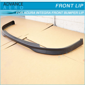 FOR ACURA INTEGRA TYPE R STYLE PU FRONT BUMPER LIP SPOILER - 1997 acura integra front bumper