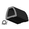 best quality d shape rubber fender from China