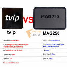 2017 cheapest tvip 410 mag250 linux Norway France Italia Quad Core