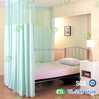 100% polyester blackout printed fabric curtain