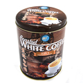 China wholesale round large volume cans/Coffee metal tin box packaging