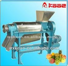 Industrial automatic spiral type fruit and vegetable juice presser