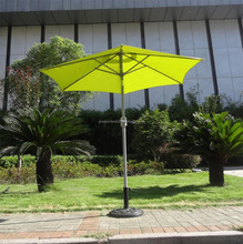 Promotional garden bench with umbrella