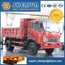 China suppliers 4x4 5 tons tractor tipper truck for sale