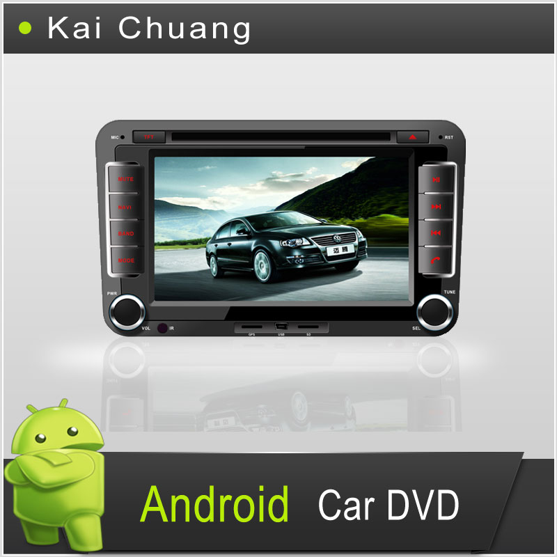 VW PASSAT B7 2din 7inch Android Car DVD Player with all Functions