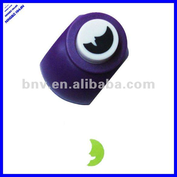 2015 new design moon shape diy craft paper punch