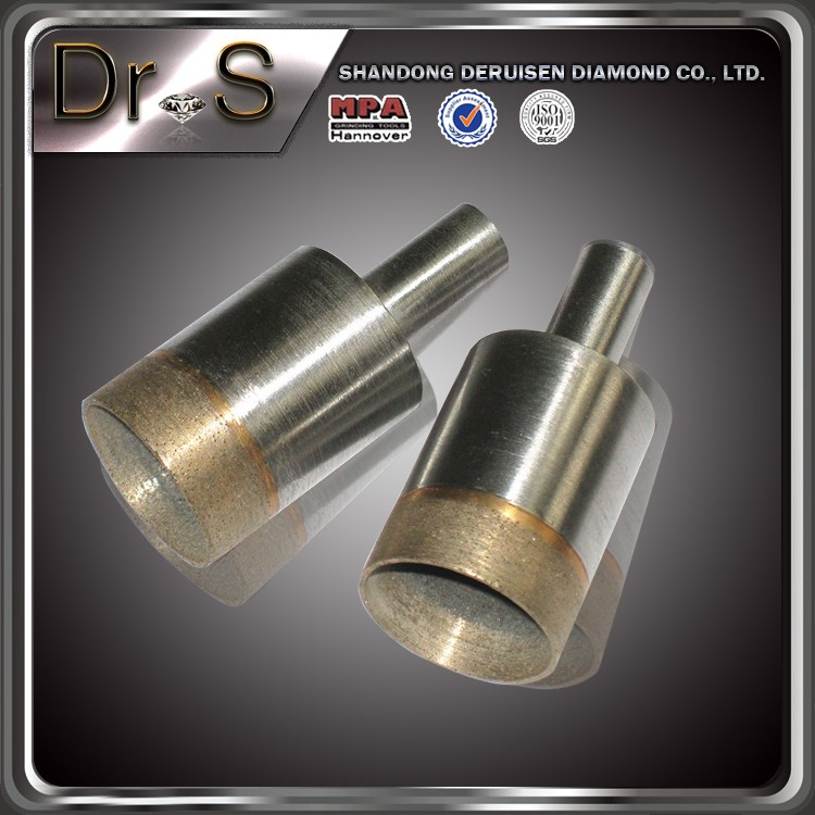 DIAMOND PLATED HOLE SAW DRILL BITS IN GLASS MARBLE GRANITE PORCELAIN TILE STONE