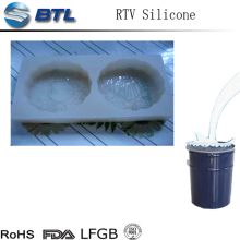 Soft liquid rtv mould making silicone rubber factory
