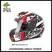 YR102 DOT Quality Carbon Fiber Motorcycle Helmet
