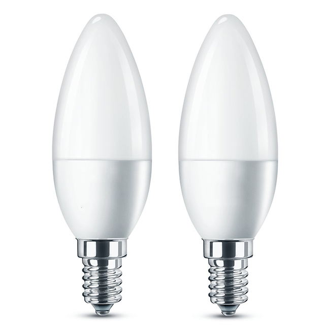 Home decoration 3W E27 B22 2000k-6500k Cool Warm White E14 led candle bulb light with CE Rhos ETL