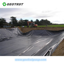 HDPE geomembrane as agriculture pond liner