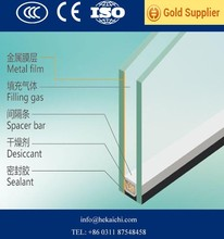 Factory price 4mm-30mm double tempered hollow building construction glass panel
