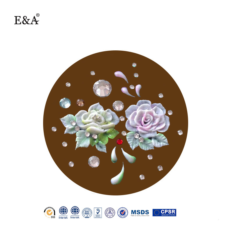EA brand 3d nail art carve gel soak off gel high quality nail sculpture uv 24 colors 3D 4D miniature carving gel nail art