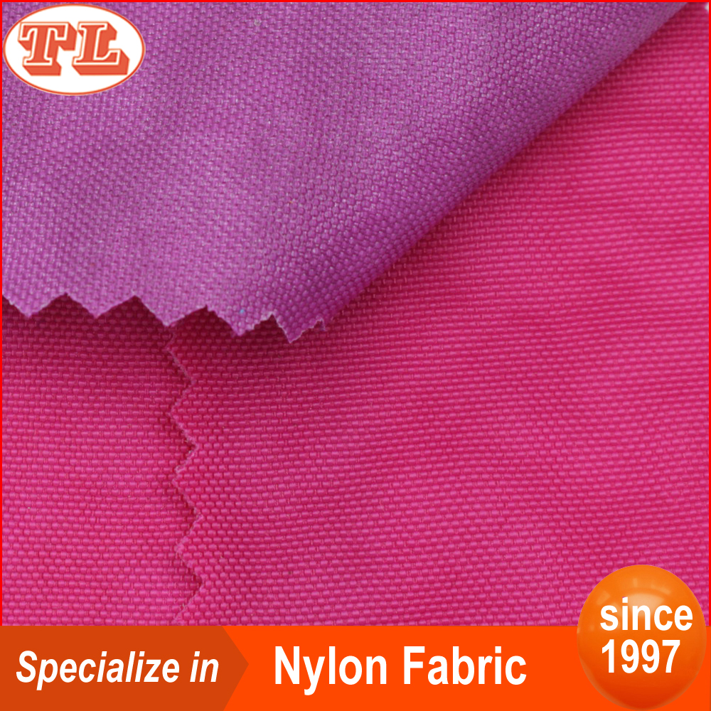 420D high density waterproof pu coated stone wash crinkle nylon fabric stock lot for sale