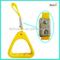 Yellow genenral triangle handlerail for bus