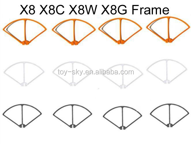 Syma X8 X8C X8W X8G 2.4G 4CH 6-Axis RC Quadcopter Drone spare parts Blade Protecting Frame