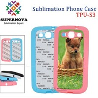 Soft Silicon TPU Custom Casing for Samsung Galaxy i9300 S3