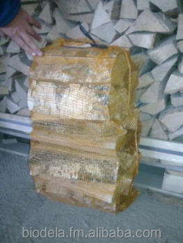 Dry Birch Firewood in 40 L bags